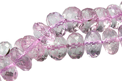Design 15036: pink,purple amethyst faceted beads
