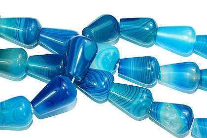 Design 16091: blue bulk lots beads