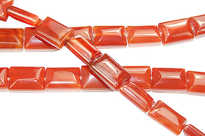 Design 16123: red bulk lots rectangular beads