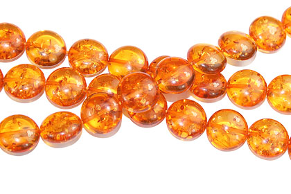 Design 16215: orange,yellow bulk lots coin beads