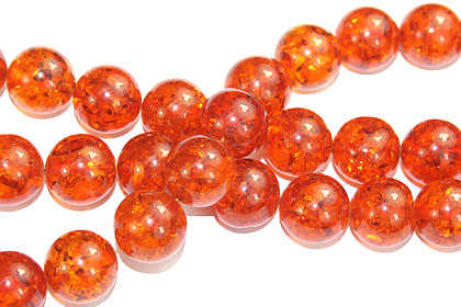 Design 16225: orange,yellow bulk lots round beads