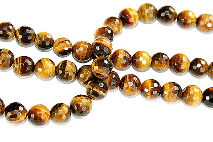 Design 16235: brown,yellow bulk lots round beads