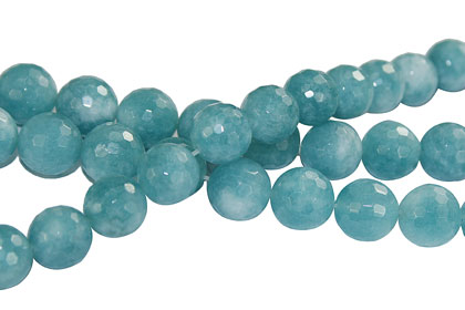 Design 16240: blue bulk lots faceted beads