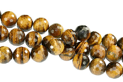 Design 16246: brown,yellow bulk lots round beads