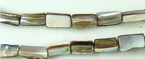 Design 5776: white,yellow shell beads