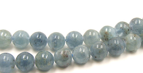 Design 5948: Blue kyanite beads