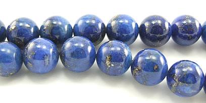 Design 5959: Blue lapis lazuli beads