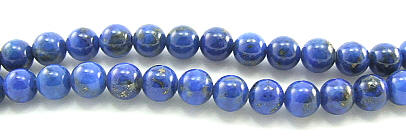 Design 5966: Blue lapis lazuli beads