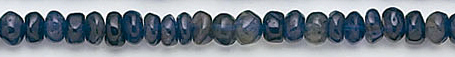 Design 6588: blue iolite beads