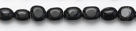 Design 6621: black black onyx beads