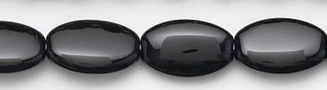 Design 6623: black black onyx beads