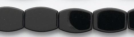 Design 6625: black black onyx square beads