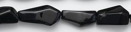 Design 6626: black black onyx beads