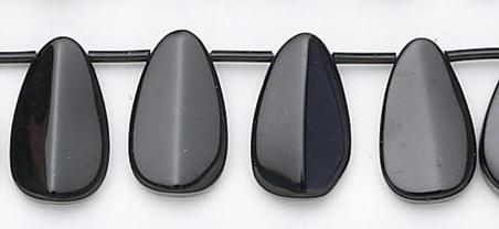 Design 6629: black black onyx beads