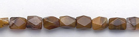 Design 6666: brown agate beads