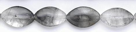 Design 6678: gray gray quartz beads