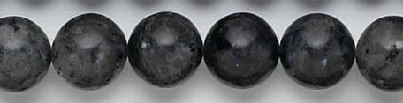 Design 6771: black, multi labradorite beads