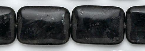 Design 6774: black, multi labradorite beads