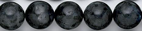 Design 6778: black, multi labradorite beads