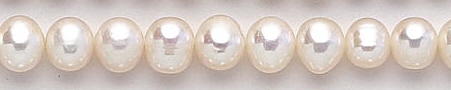 Design 6882: white pearl beads