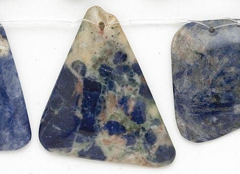 Design 7002: blue sodalite beads