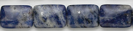 Design 7010: blue sodalite beads