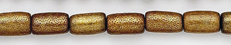Design 7027: gold coral beads