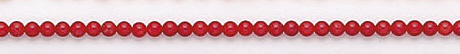Design 7032: red coral beads