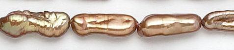 Design 7056: brown pearl beads