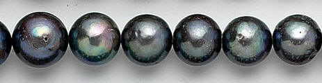 Design 7064: peacock pearl beads