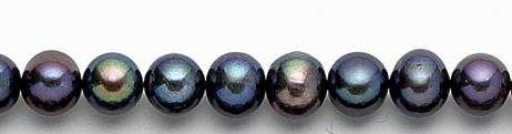 Design 7066: peacock pearl beads