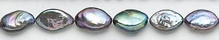 Design 7068: peacock pearl beads