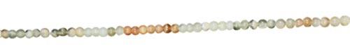 Design 7735: brown moonstone round beads