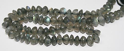Design 7761: Grey labradorite beads