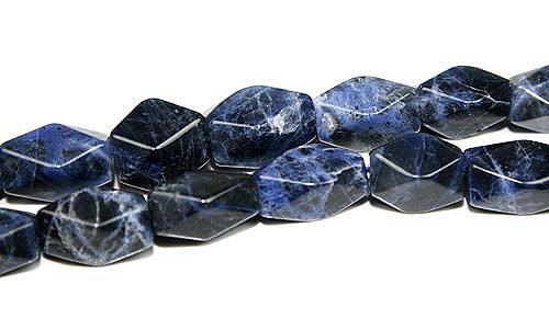Design 8014: Blue sodalite beads