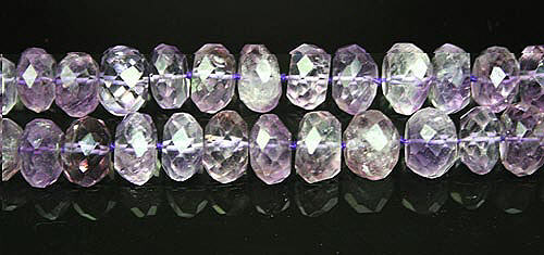 Design 8016: purple amethyst faceted beads