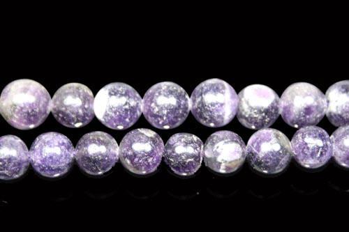 Design 8017: Purple amethyst beads