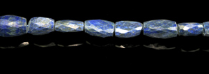 Design 8023: blue lapis lazuli faceted beads