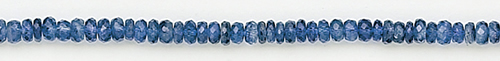 Design 8192: blue kyanite faceted beads