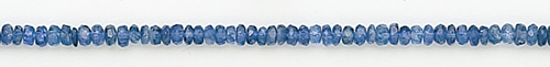 Design 8194: blue kyanite faceted beads