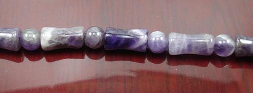 Design 8295: purple amethyst beads