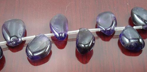 Design 8298: purple amethyst beads