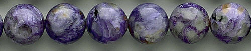 Design 8338: purple charoite beads