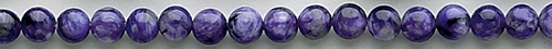 Design 8366: purple charoite beads