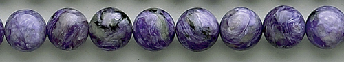 Design 8367: purple charoite beads