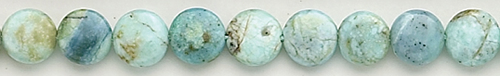 Design 8439: blue opal coin beads