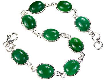 Design 1122: green onyx bracelets