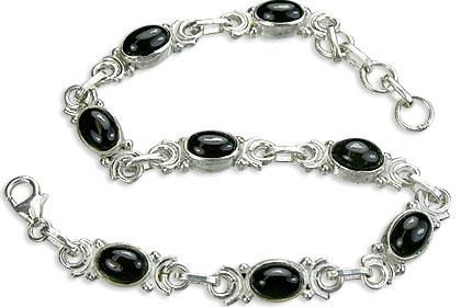Design 14513: black black onyx bracelets