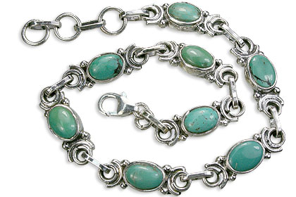 Design 14516: blue,green turquoise bracelets
