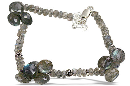 Design 15438: blue,green labradorite bracelets